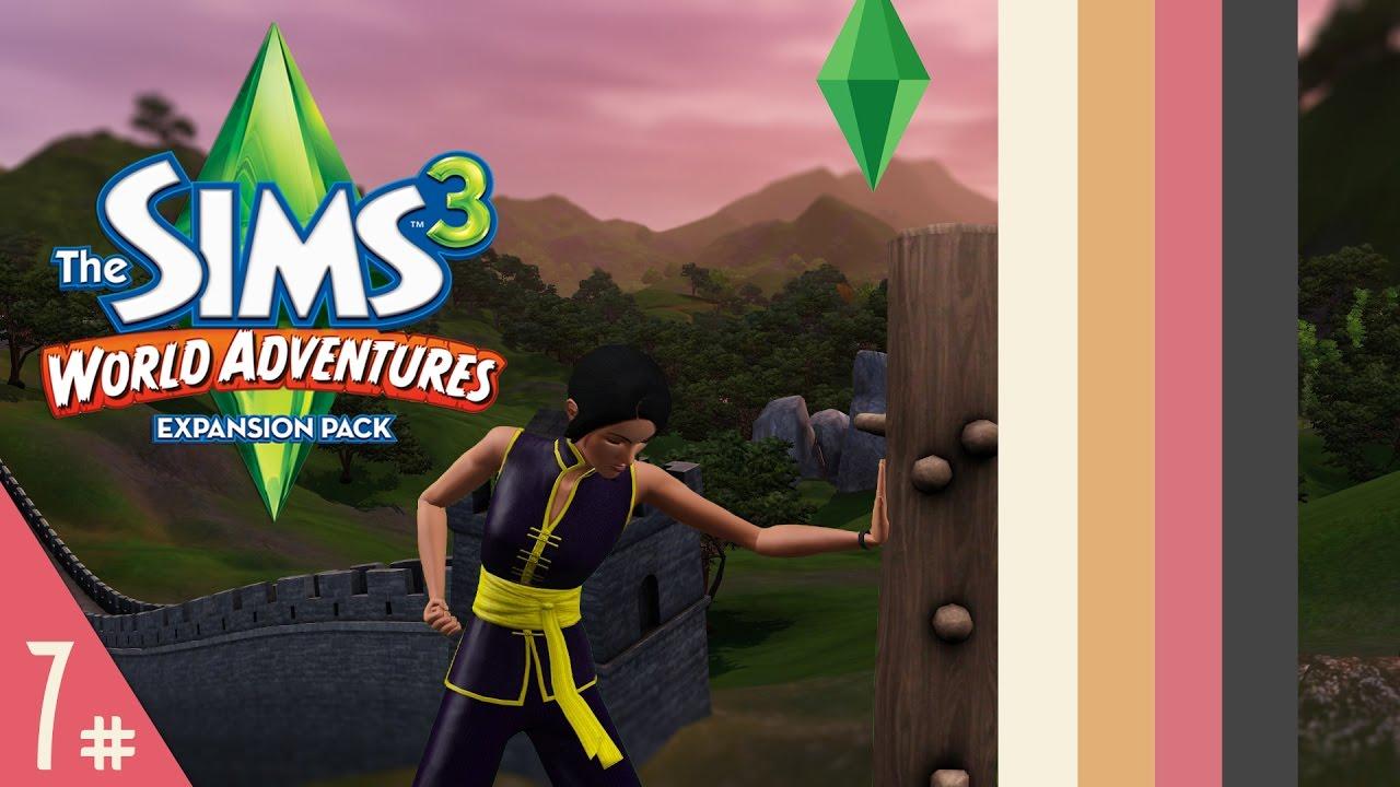 sims 3 world adventures part 7 kung fu master youtube. Black Bedroom Furniture Sets. Home Design Ideas