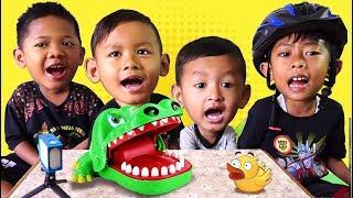 Permainan Board Game Crocodile Dentist Gigit Buaya Challenge | Video Indonesia