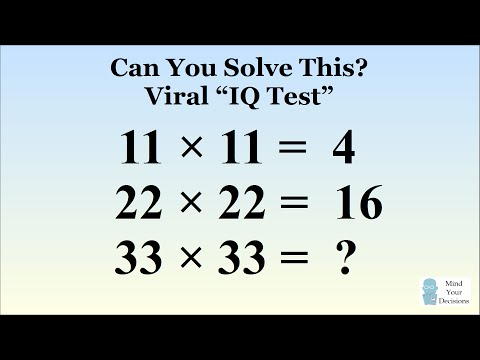 Can you solve this viral iq test