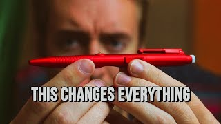 Fidget Pen -- The BEST or the WORST of Both Worlds?