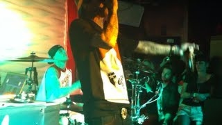 Travis Barker & Yelawolf @ FSAS' Agenda Show After Party 2013 HQ