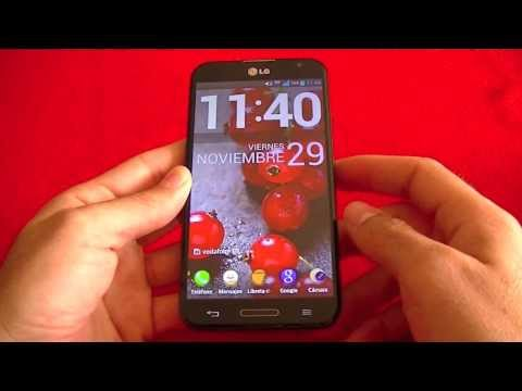 LG Optimus G Pro review (en español)