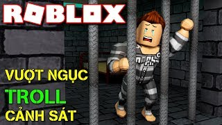 Roblox | The YOUTH ESCAPED FROM PRISON And ENDING POLICE TROLL-Prison Breakout Obby | Kia Breaking