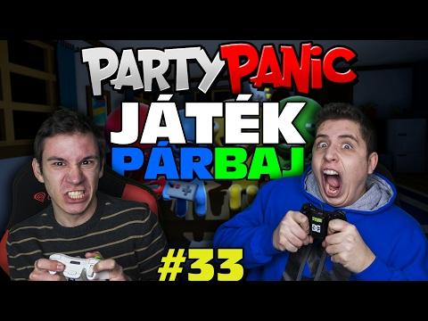 ÉPPHOGY CSAK MEGLETT BAKKER | Party Panic| JátékPÁRBAJ #33