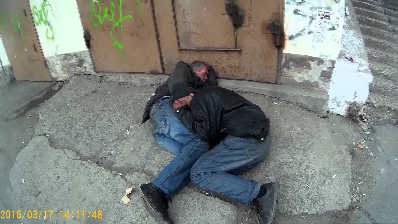 Homeless gay porno