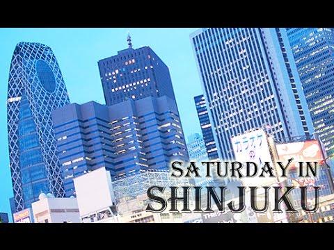 Japan Travel-Saturday in Shinjuku 新宿の一日