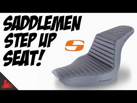 Saddlemen Step-Up Seat! - Install & First Ride