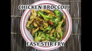 Chicken Broccoli Stir Fry Recipe - How to cook Chicken Broccoli Chinese Style