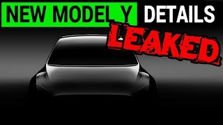 New Tesla Model Y Details Leaked