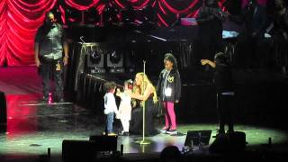 Mariah Carey Live in Auckland 2014 - Roc & Roe take over the stage