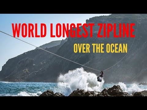 World Longest Zipline Over the Ocean | Mossel Bay, South Africa