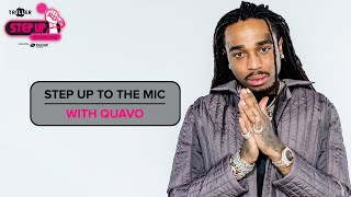 Quavo invites you to step up the mic