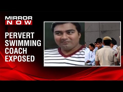 F.I.R filed against swimming coach for molesting minor, accused coach on the run
