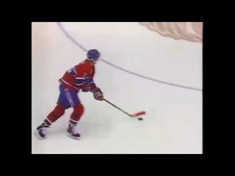1992-11-04 Montreal Canadiens at Detroit Red Wings highlights