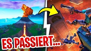 😨 IT PASSES... VULKAN BRICHT OFF & MAP FULL with LAVA in Fortnite