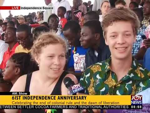 61st Independence Anniversary - AM Show on JoyNews (6-3-18)