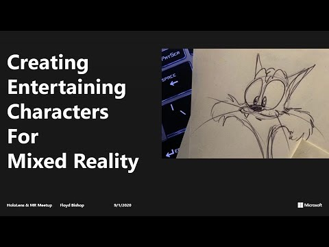Creating Entertaining Characters for Mixed Reality