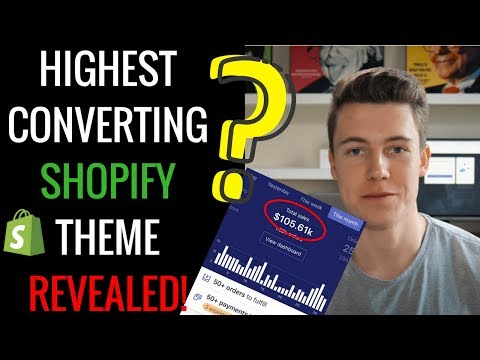 BEST SHOPIFY THEME OF  2018 - STEP BY STEP SETUP AND INSTALLATION