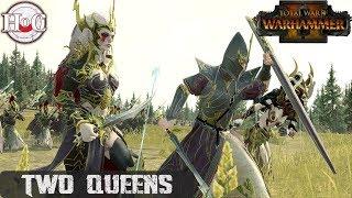 TWO QUEENS - Total War Warhammer 2 - Online Battle 291