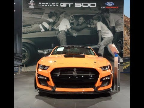 Exclusive First Look !  Ford Mustang Shelby GT GT  on My Car Story with Lou Costabile