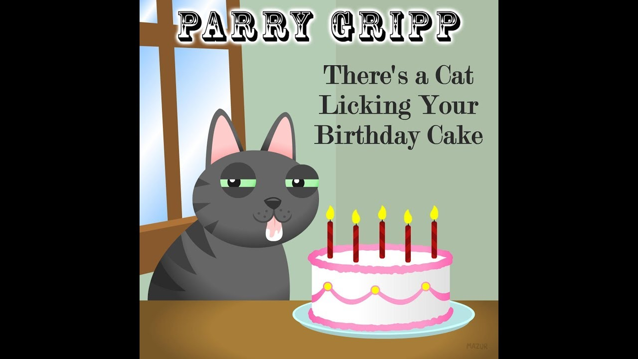 Theres A Cat Licking Your Birthday Cake Lyrics