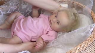Обложка на видео о Кукла реборн силиконовая полностью