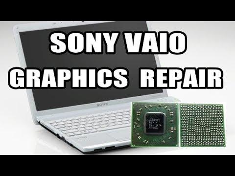 Reballing Sony Vaio - Graphics Card Repair