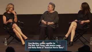 The New York Times Look West Event-- Leading Ladies: Jessica Lange and Kathy Bates