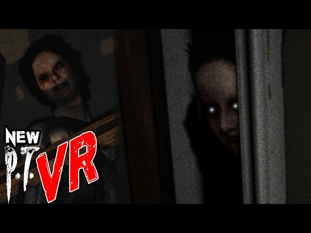 THE SCARIEST P.T. REMAKE EVER MADE   PT for PC VR (w/ Heart Rate Monitor)
