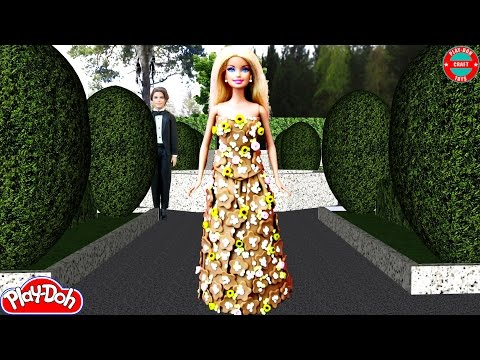 Play Doh Barbie Taylor Swift - Blank Space Inspired Dress (2) Play-Doh Craft N Toys