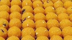 Motichoor Ladoo Recipe | How To Make Motichoor Laddu | Boondi Laddu Making | Indian Sweets Making