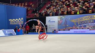 Arina Averina - Ribbon Nationals 2021 EF 25.60