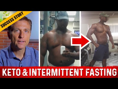 Ketosis & Intermittent Fasting Before & After: Dr. Berg Skype Interview: Michel Jourdain
