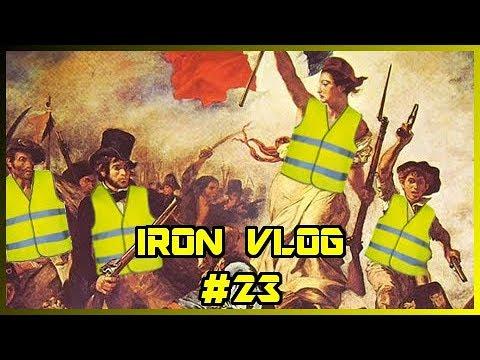 Paryż płonie - A Polska? - Iron Vlog #23