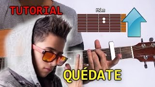 Cómo tocar Quedate de Andy Rivera en Guitarra | Tutorial