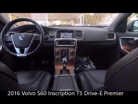 Volvo Of Bonita Springs >> Used 2016 Volvo S60 Inscription T5 Drive E Premier Near Fort Myers And Bonita Springs