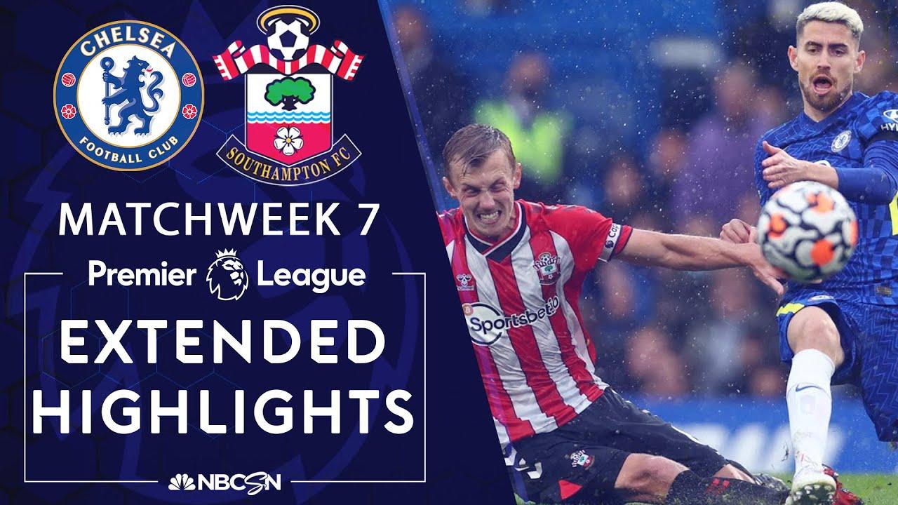 Chelsea v. Southampton | PREMIER LEAGUE HIGHLIGHTS | 10/2/2021 | NBC Sports