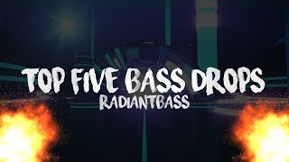 TOP 5 BASS DROPS ✘ BEST OF TRAP AND BASS  ✘ RADIANTBASS