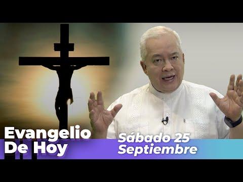 EVANGELIO DE HOY, Sabado 25 De Septiembre De 2021 - Cosmovision