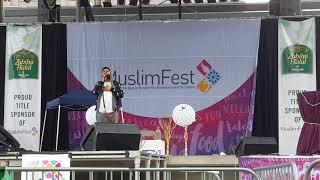 بروفه .. مولاي صل - عمر عيسى - Mawlaya Salli - Omar Esa - Muslim Fest 2018