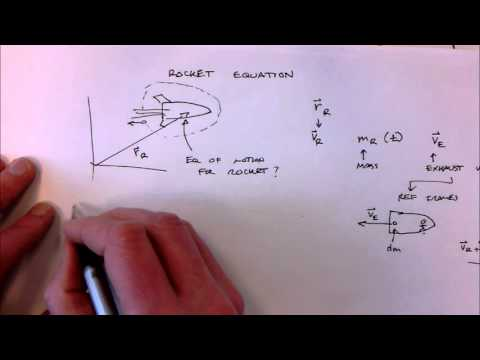 Rocket Equation Derivation