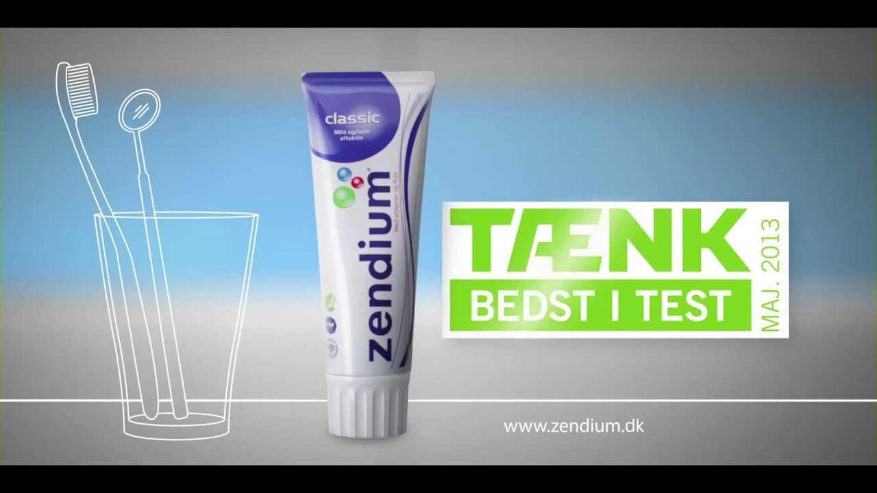 Zendium Classic - Bedst i test - YouTube