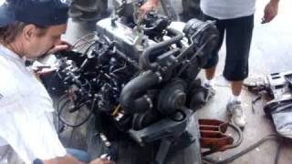 ABC Motors and Marine - OMC Mercruiser Volvo 4 Cyl Engine Motor 3.0 L 181 CID 140 hp