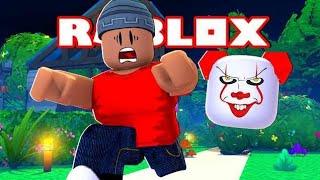 FUJA DO PALHAÇO ASSASSINO - Roblox The Clown Killings Part 2