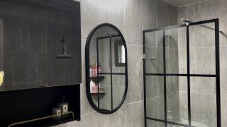 (셀프 인테리어) 욕실 수납장, 욕실 거울 교체, 욕실…