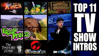 Nostalgia Critic:  Top 11 TV Show Intros