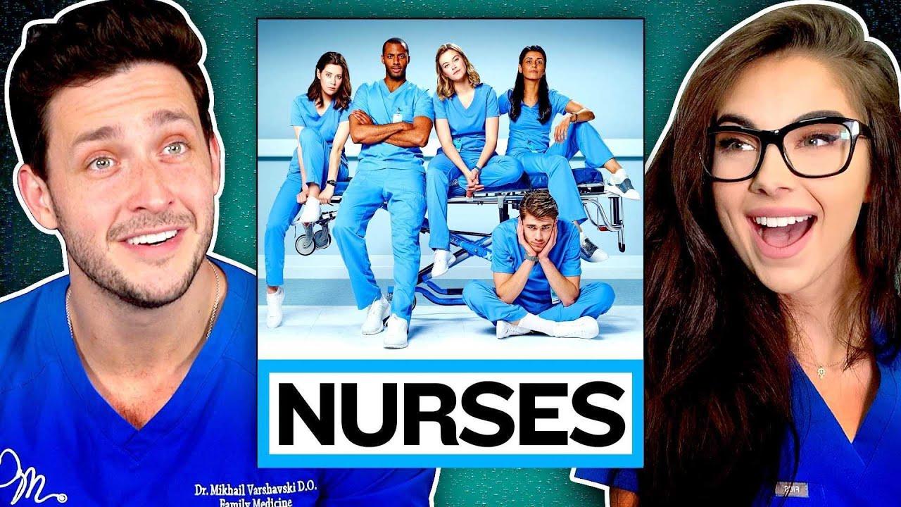 "Download Real Doctor & Nurse React to ""Nurses"" | Medical Drama Review"