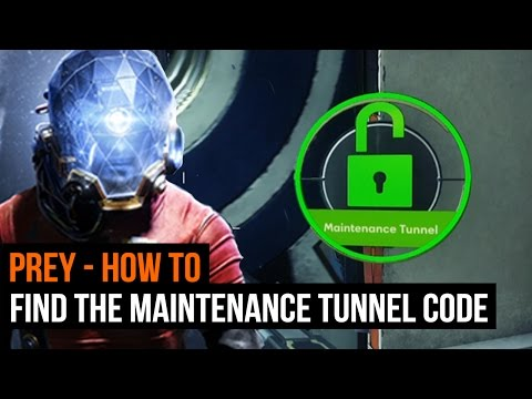 Prey - How to find the maintenance tunnel code (Kimberly Bomo's body)