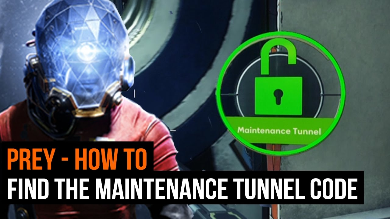 How to get Prey's maintenance tunnel code and find Kimberly