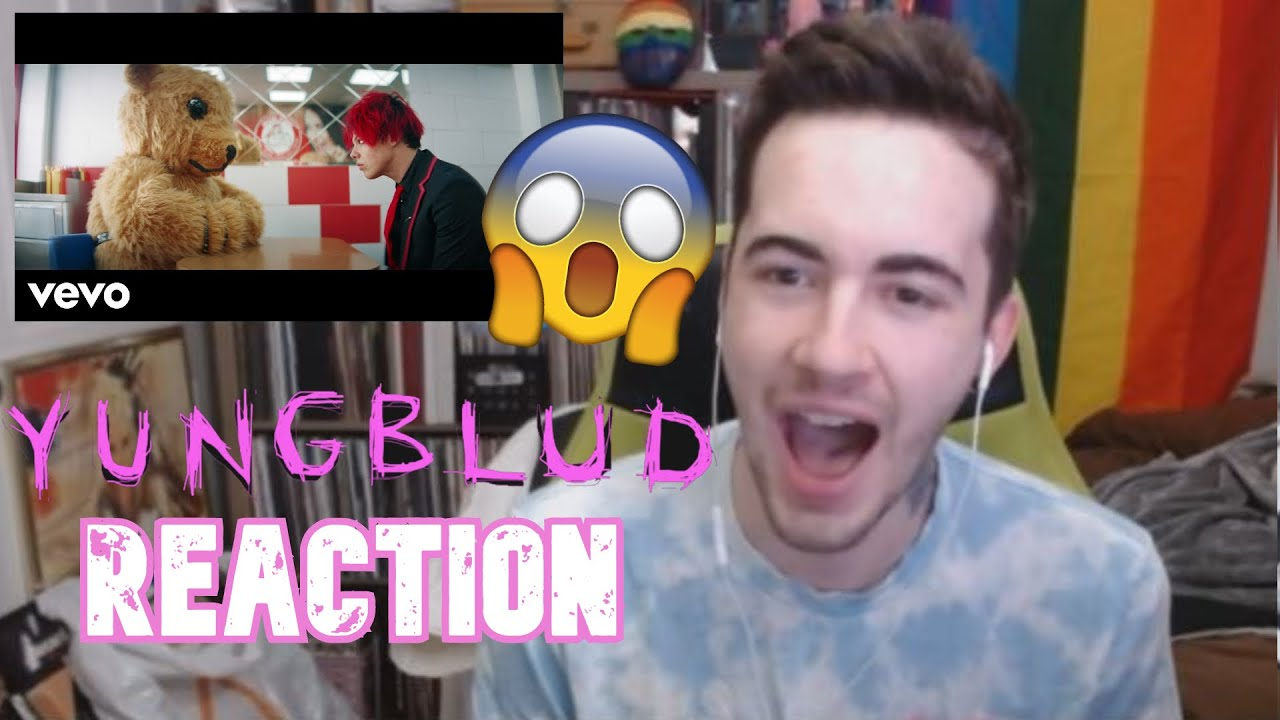 YUNGBLUD - god save me, but don't drown me out - (official video) REACTION!!